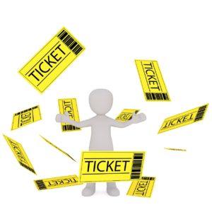 未使用チケット