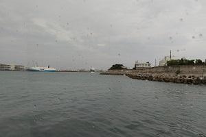 泊港を出港